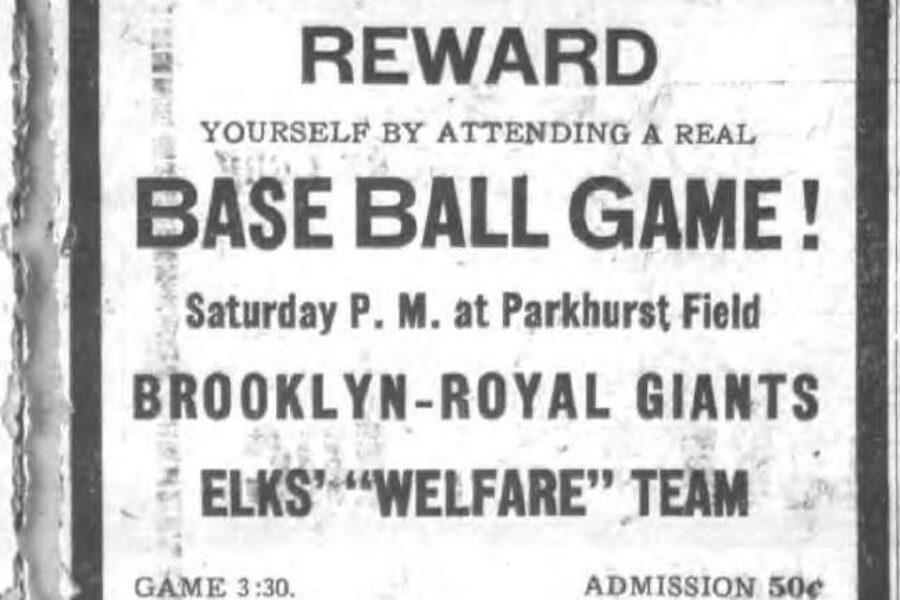 Brooklyn Royal Giants Return